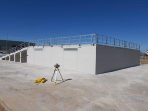 Construccion punto limpio prefabricado GALLIZO RAN2 Valdetorres del Jarama – Comunidad de Madrid