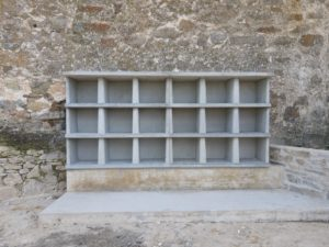Nichos prefabricados y columbarios. Productos GALLIZO DEPCON®