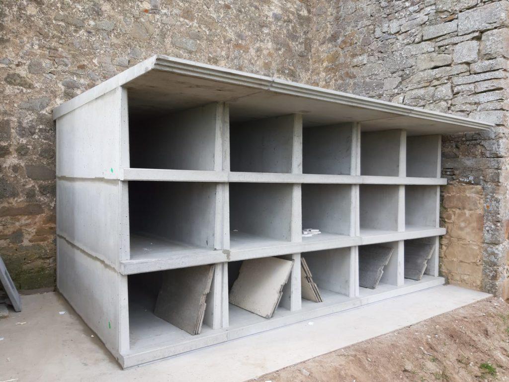 nichos prefabricados y columbarios tipo DEPCON®